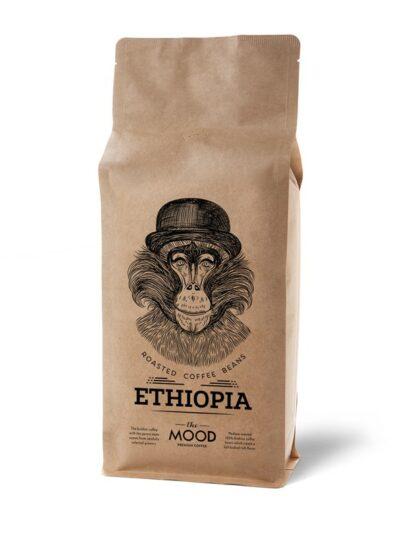 Rūšinė kava The Mood Ethiopia 1 kg
