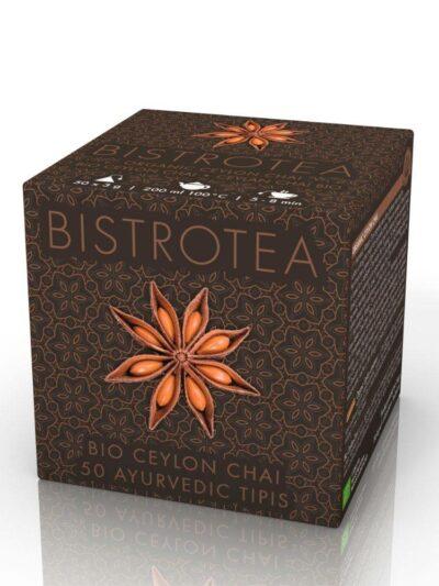 Ceilono arbata su CHAI prieskoniais
