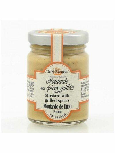 Terre Exotique Dijon garstyčios su skrudintų prieskonių mišiniu