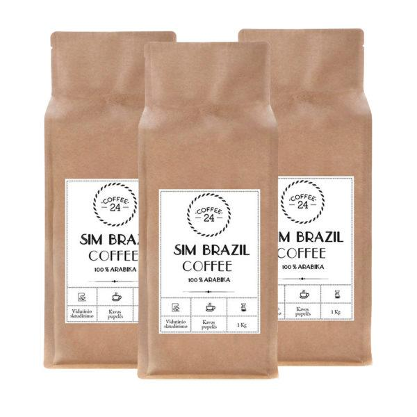 3x Coffee24 kava Sim Brazil