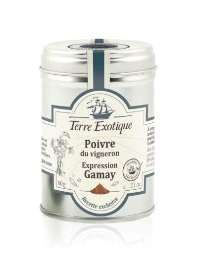 Terre Exotique vyndarių pipirų mišinys Gamay