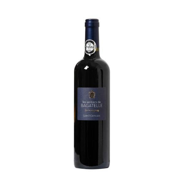 Raudonas sausas vynas Les Sentiers de Bagatelle