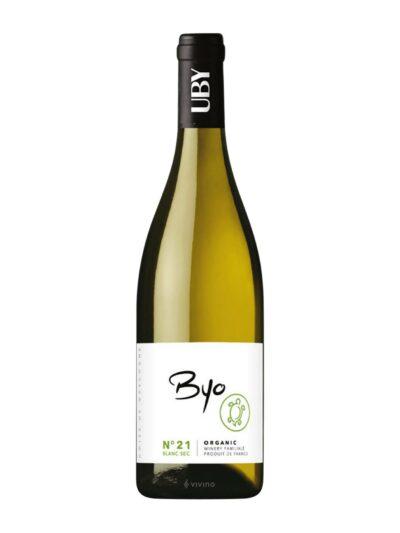 Baltas sausas vynas UBY Nr. 21