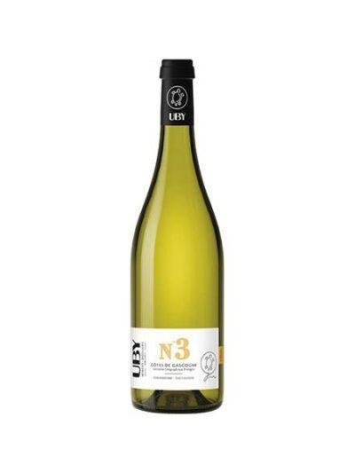 Baltas sausas vynas UBY Nr. 3