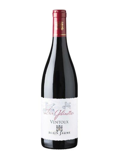Raudonas sausas vynas Ventoux