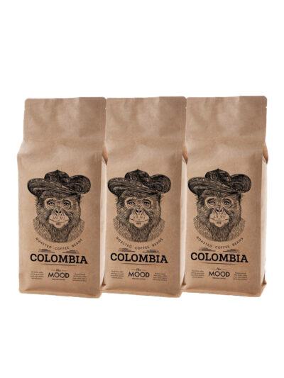 Colombia kava rinkinys