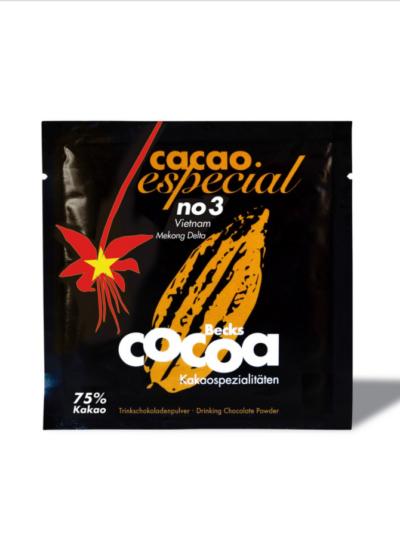 Kakavos gėrimas Especial No. 3 Vietnam pakelis